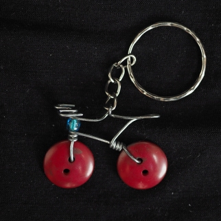 Keyring Carrera darkred
